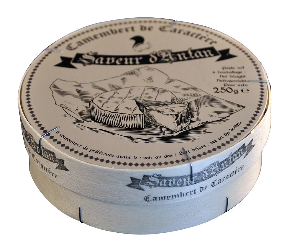 Saveur d'antan - Camembert de caractère 250g